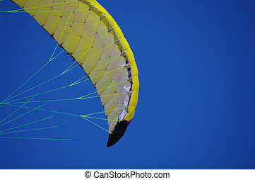 Kite sky fly - Colorful kite flying in the summer breeze