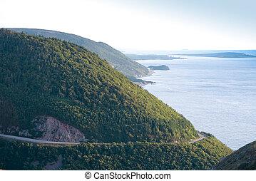 Cape Breton scenic road
