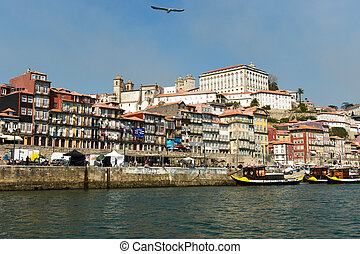 Portugal. Porto city. The other side of Porto. Ribeira