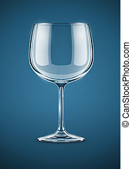 glass goblet for wine drink - glass goblet for wine vector...
