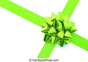 Christmas Gift with ribbon - christmas gift with ribbon and...