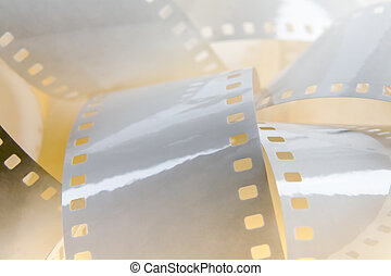 White film background - 35mm white film shown as a...