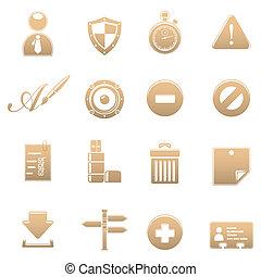 Icon set universa