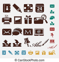 Post office icons
