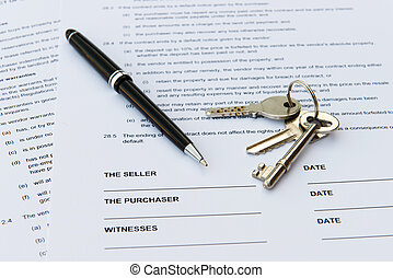 Real estate sale - Legal document for sale of real estate...