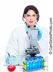 Laboratory research - Scientific women in laboratory Health...