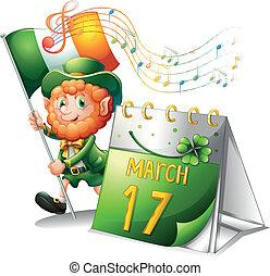 A celebration for St. Patrick