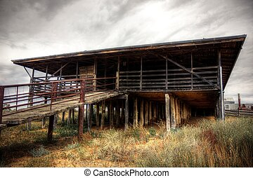 Woolshed, Australian outback