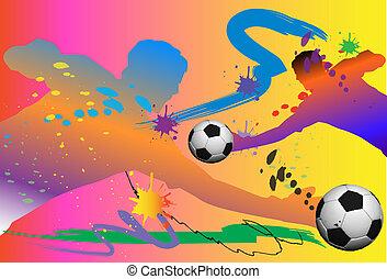 goalkeeper action - match, field, power, speed, teams, goal,...