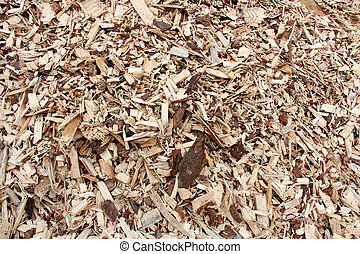 Background of Woodchips - Background of woodchips.
