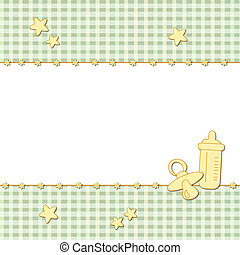 baby background - illustration for baby background with...