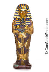 egyptian mummy coffin studio cutout