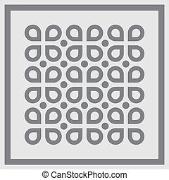 Abstract background pattern. Vector.