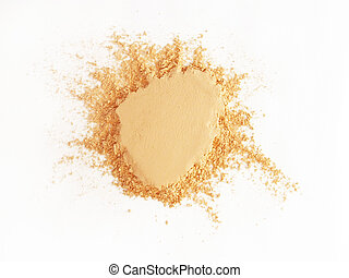Face Powder - Isolated batch of face powder