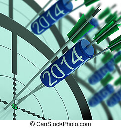 2014 Accurate Dart Target Shows Successful Future - 2014...