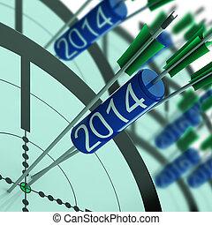 2014 Accurate Dart Target Shows Successful Future