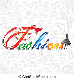 creative writing of fashion word