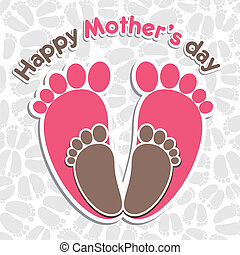 happy mother s day greeting backgro