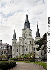 St Louis Cathedral, New Orleans - St Louis Cathedral the...