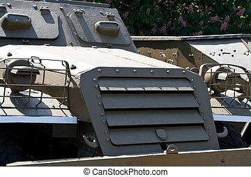 parts of the Soviet military machine stood