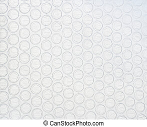Air bubble material background. Artificial material
