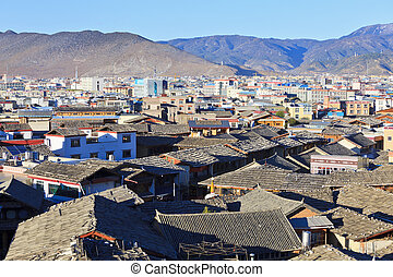 Shangri-la old town in China