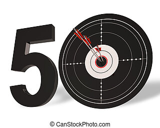 50 Target Shows Golden Anniversary Fifty Years - 50 Target...