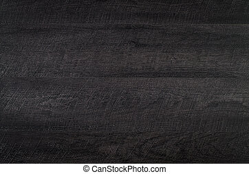 Black wood texture - Detailed closeup of black wood texture...