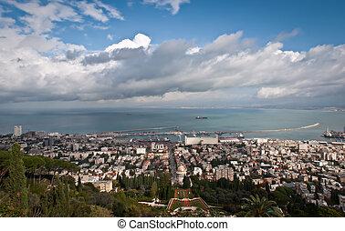 Bahai Gardens in Haifa Israel - Bahai Gardens in Haifa,...