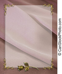 Wedding Party Invitation Border