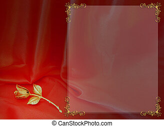 Wedding or Valentine Border