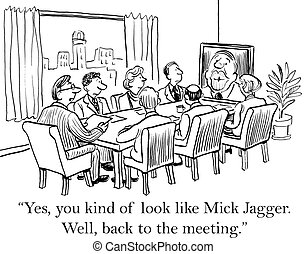 """Boss is taken back by off topic question - """"Yes, you kind of..."""