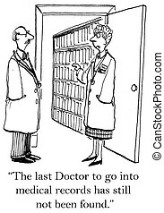 Doctor warns other doctor not to get lost - The last doctor...