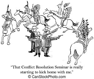 """Soldiers of Custer's command like the seminar - """"That..."""
