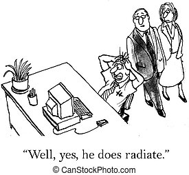 """Intense manager radiates the wrong energy - """"Well, yes, he..."""