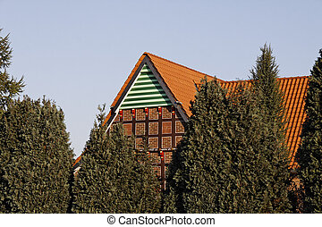 Nice timbered house, Germany - Nice timbered house in...
