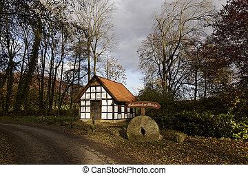 Gellenbecker mill in Germany - Gellenbecker Mhle in Hagen...