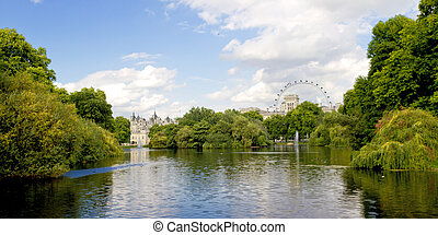 St James Park London - St James Park in London