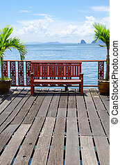 tropical sea - Beautiful tropical sea, Krabi Thailand