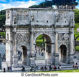 Arco di Constantino - Beautiful Arco di Constantino at Rome...