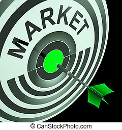 Target Market Means Aiming At Business Audience - Target...