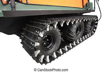 all-terrain vehicle - Track of an all-terrain vehicle