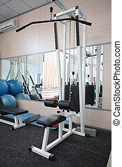 gym hall - Gym apparatus in gim hall