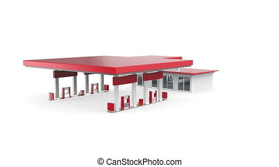 Petrol station - Presentation of petrol station project