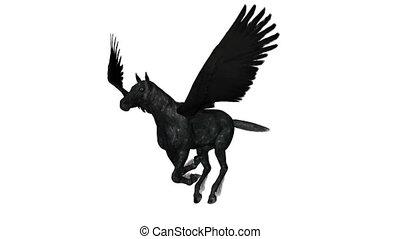 Pegasus - running pegasus