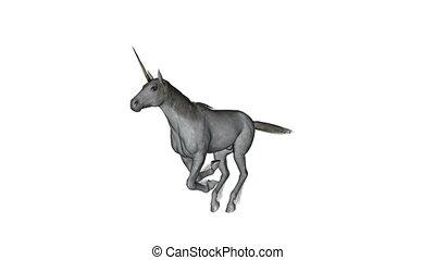 unicorn - running unicorn