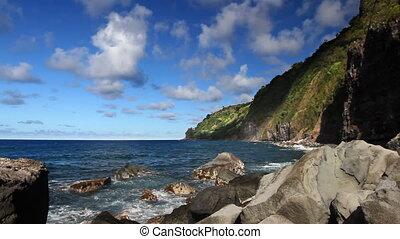 Rocky Hawaiian Shore