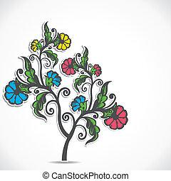 植物, 花, レトロ