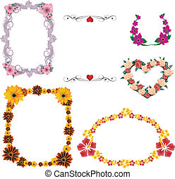 Flower Frame Set