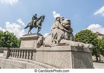 Wilhelm von Rumann in Stuttgart, Germany - Emperor Wilhelm...